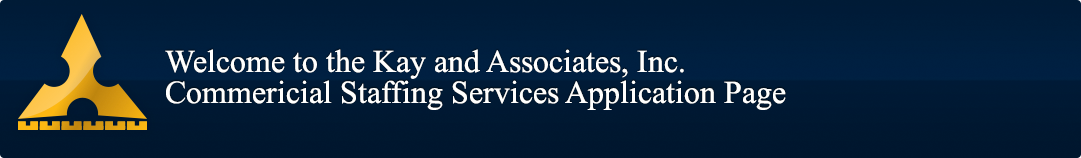 Welcome to Kay and Associates, Inc. Career Website